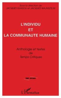 L'individu et la communauté humaine