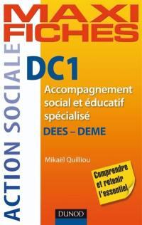 DC1, accompagnement social et éducatif spécialisé,