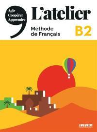 L'atelier,  méthode de français