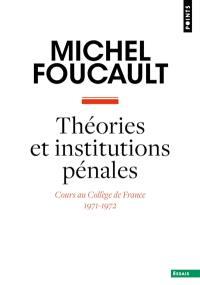 Théories et institutions pénales