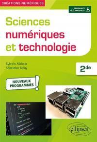 Sciences numériques et technologie 2de