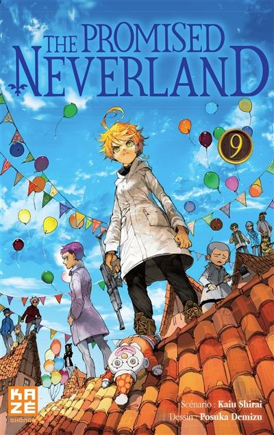 The promised Neverland. Volume 9, Début des hostilités