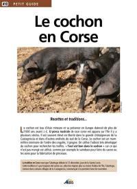 Le cochon en Corse