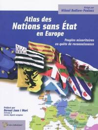 Atlas des nations sans Etat en Europe