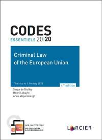 Criminal law of the European Union