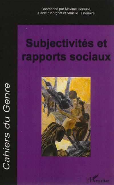 Cahiers du genre. n° 53, Subjectivités et rapports sociaux
