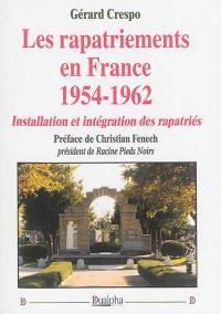 Les rapatriements en France, 1954-1962