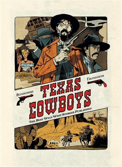 Texas cowboys : the best wild west stories published, Vol. 1