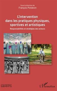 L'intervention dans les pratiques physiques, sportives et artistiques