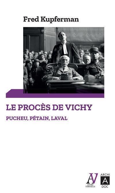Le procès de Vichy
