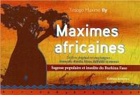 Maximes africaines