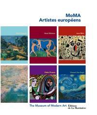 MoMA, artistes européens