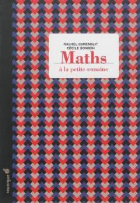 Maths à la petite semaine