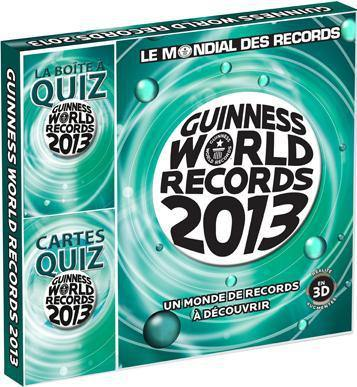 Coffret Guinness world records 2013