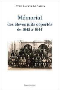 Mémorial des élèves juifs déportés de 1942 à 1944