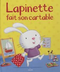 Lapinette fait son cartable