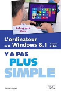 L'ordinateur avec Windows 8.1, version update