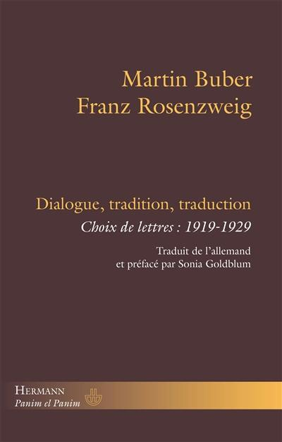 Dialogue, tradition, traduction