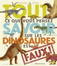 Tout ce que vous pensez savoir sur les dinosaures est faux !