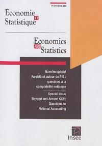 Economie et statistique. n° 517-518-519, Au-delà et autour du PIB