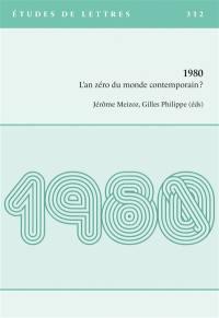 Etudes de lettres. n° 312, 1980