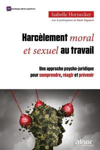 Harcèlement moral et sexuel au travail