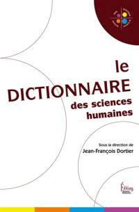 Le dictionnaire des sciences humaines