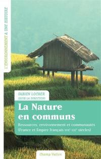 La nature en communs