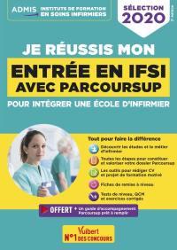 Je réussis mon entrée en IFSI avec Parcoursup