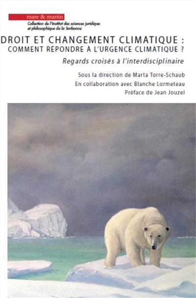 Droit et changement climatique