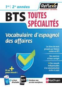 Vocabulaire d'espagnol des affaires, BTS toutes spécialités
