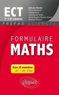 Formulaire maths