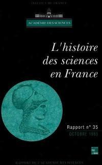 L'histoire des sciences en France