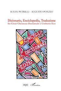 Dizionario, enciclopedia, traduzione