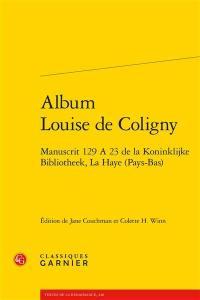 Album Louise de Coligny