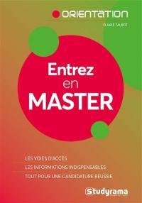 Entrez en master