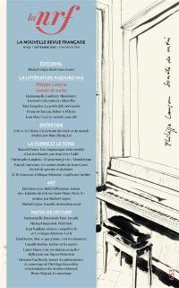 Nouvelle revue française. n° 633,