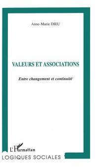 Valeurs et associations