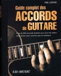 Guide complet des accords de guitare