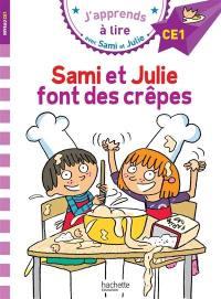 Sami et Julie font des crêpes, niveau CE1