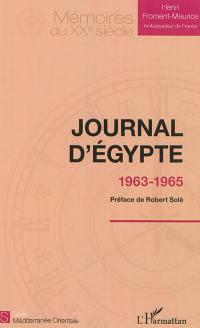 Journal d'Egypte
