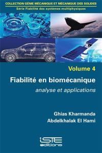 Fiabilité en biomécanique