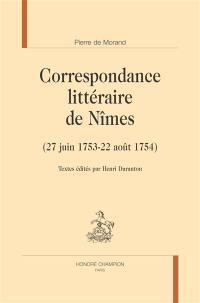 Correspondance littéraire de Nîmes
