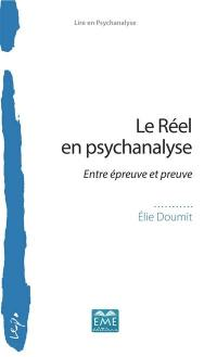 Le réel en psychanalyse