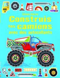 Construis tes camions avec des autocollants