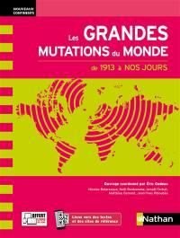 Les grandes mutations du monde