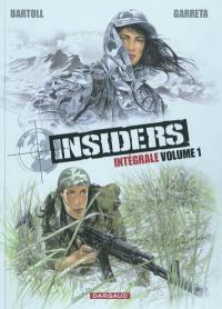 Insiders intégrale. Volume 1,