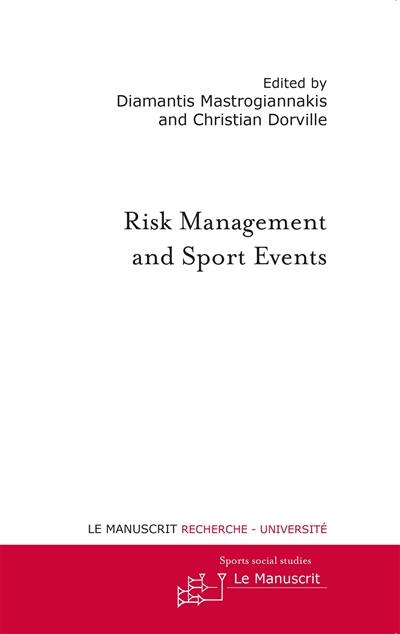 Risk management and sport events