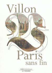 Villon, Paris sans fin