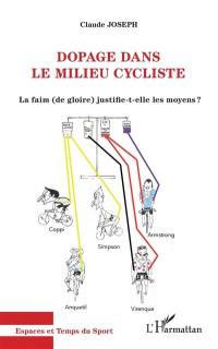 Dopage dans le milieu cycliste